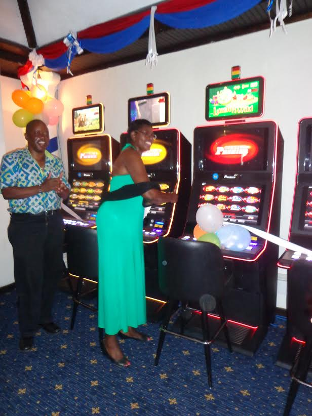 The Tamarind Mombasa General manager (Victor Shitakha and Golden Key Casino Director (Judy Kiragu ).